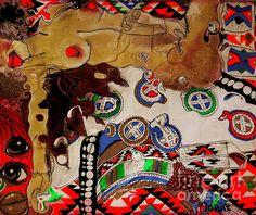 art by Mariette/ flowie van den Heever (Angel Africa)