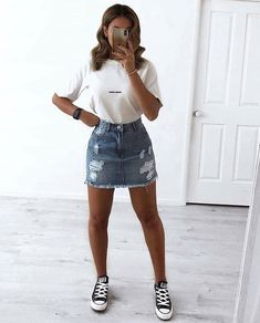 trendy outfits for summer & trendy outfits ; trendy outfits for school ; trendy outfits for summer ; trendy outfits for women ; Summer Outfits Women, Teen Fashion Outfits, Spring Outfits, Tumblr Summer Outfits, Winter Outfits, Fashion Ideas, 80s Fashion, Fashion Women, Prep Fashion
