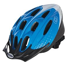 F15 Cycle Helmet Blue White : Oxford Products