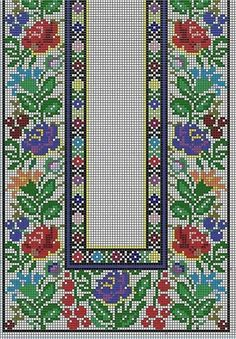 Cross Stitch Embroidery, Cross Stitch Patterns, Loom Beading, Crochet Designs, Needlework, Bohemian Rug, Diy And Crafts, Kids Rugs, Quilts