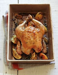 Roast Chicken with Preserved Lemons & Herbs Williams-Sonoma