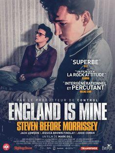 England is mine. Jessica Brown Findlay, Steven Patrick Morrissey, Latina, Minions, John Cooper Clarke, Elephant Man, Jack Lowden, Attitude, Films Cinema