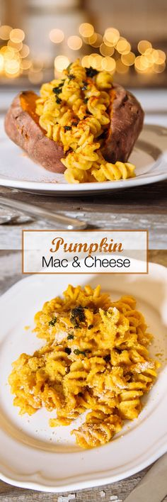 Pumpkin Mac and Cheese Recipe  Regular mac and cheese is great on it's own, but what happens when you add the magic of pumpkin?! MAGIC! That's what!