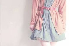 I like this, but I feel like it wouldn't look good on anyone but the girl in the picture. Ulzzang Fashion, Indie Fashion, Cute Fashion, Fashion Beauty, Fashion Outfits, Sweet Fashion, Ulzzang Style, Dress Fashion, Women's Fashion