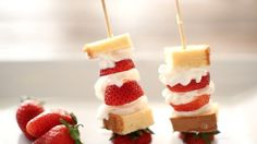 Darling & Delicious Strawberry Shortcake Kabobs