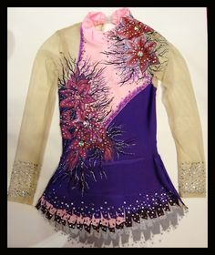 Rhythmic leotard made and designed by Dreamwing Leotards ( me)