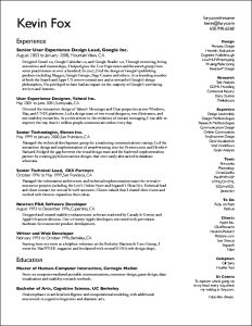 36 Unique resume designs that look nice & professional. Will be using this...