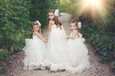 """""""Vintage Bridal Dreams""""... One of our Couture Flower Girl Dresses Sophisticated and stunningly beautiful, Our Vintage Bridal Dreams couture flower girl dress makes no sacrifices in style! This one of"""