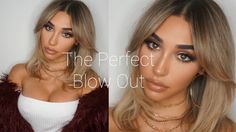 HOW TO GET THE PERFECT BLOWOUT AND STYLE BANGS!! || Chantel Jeffries