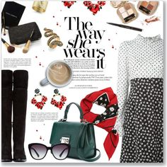 How To Wear The way she wears it... Outfit Idea 2017 - Fashion Trends Ready To Wear For Plus Size, Curvy Women Over 20, 30, 40, 50