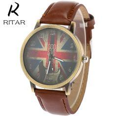 Luxury man watches with British logo