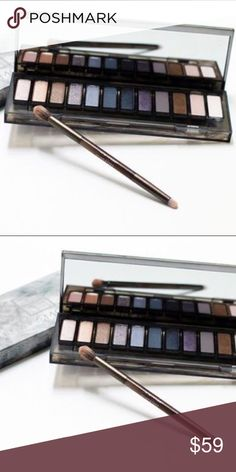 NEW!Authent! Naked 12 Smoky Neutral Shadow Brush Brand new! Unopened! Authentic! Urban Decay Naked 12 Smoky Neutral Eye Shades,Double-Ended Shadow Brush Pallete. I have a receipt as a proof of purchase from a reputable store. Urban Decay Makeup Eyeshadow