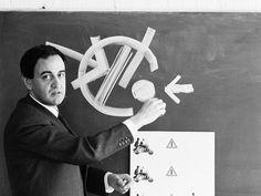 Tomás Maldonado im Unterricht, 1966.