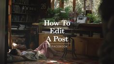 How to Edit a Post on Vimeo