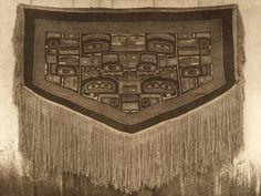 Chilkat blanket , the Haida ceremonial robe (The North American Indian, v. XI. Cambridge, MA: The University Press, 1916)