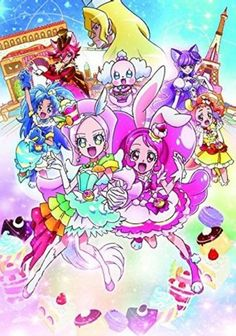 Pony Canyon Schedules 'Kirakira ☆ Precure a la Mode Movie: Paritto! Omoide no Mille-Feuille!' Anime DVD/BD Releases