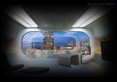 Sci-Fi Hotel® Room Concept