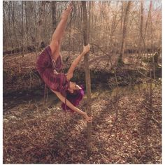 Yes! Tree poling need to take my aerial hoop to the woods ...