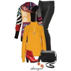 """Unique Cardigan Contest"" by sherryvl on Polyvore"