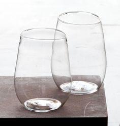Malfatti Glass Image of pair of vino rosso