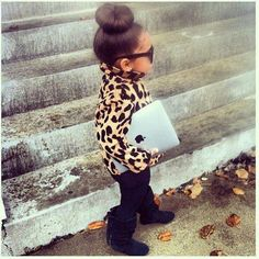 I'm more of overalls and pigtails kind of girl but this is so adorable as a mini adult.