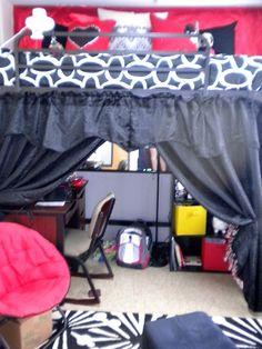 Art Dorm Sweet Dorm future-dorm-ideas. The curtains should happen...
