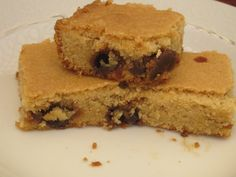 Butterscotch Maple Bars – Gluten Free, Nut Free, Egg Free, Gum Free and Low Oxalate