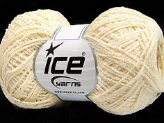 Cotton Chenille Fine Cream  Fiber Content 100% Cotton, Brand Ice Yarns, Cream, Yarn Thickness 2 Fine  Sport, Baby, fnt2-55172 Yarns, Fiber, Content, Sport, Cream, Baby, Creme Caramel, Deporte, Low Fiber Foods