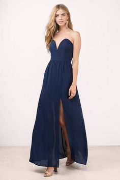 Krystal Strapless Maxi Dress at Tobi.com  shoptobi Sweetheart Dress 6e9a9e34a73f