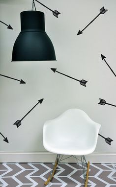 ARROWS  WALL DECAL by TheLovelyWall on Etsy, $15.00 inspired by @Danielle Lampert Oakey Interiors