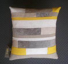 Canary Stone Wall Cushion