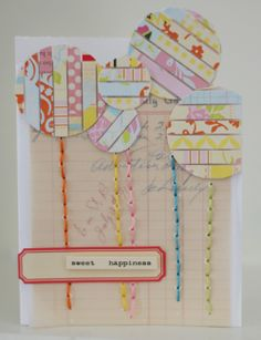tutorial on using paper strips from @Nicole Samuels
