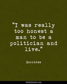 socrates quote - environment - Google Search