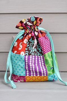 73 best lined drawstring bag images drawstring bag tutorials rh pinterest com