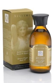 Alqvimia Queen of Egypt Body Oil ~ Pure magic for skin and soul with coldpressed almond oil and essential oils of bitter orange peel, myrrh and frankincense. For the Goddess in You