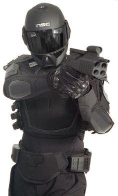 Nanotechnology Combat Armour 3