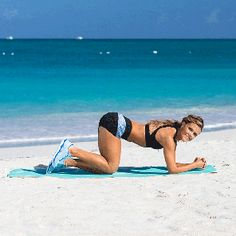 You can perform this exclusive workout on its own or as part of the Tone It Up Bikini Series Zumba, Thigh Exercises, Glut Exercises, Bikini Workout, Tone It Up, Easy Workouts, Get In Shape, Workout Videos, At Home Workouts