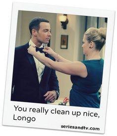 You really clean up nice, Longo. Mel Burke #Melissa #JoeyLawrence #MelissaJoanHart