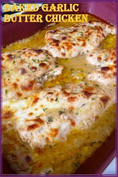 Turkey Recipes, Beef Recipes, Low Carb Recipes, Cooking Recipes, Healthy Recipes, Diabetic Chicken Recipes, Diabetic Tips, Recipies, Garlic Butter Chicken