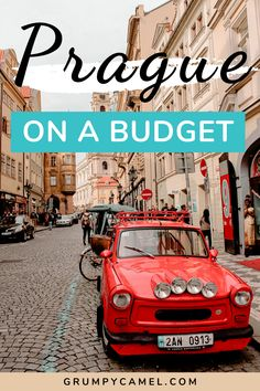 Explore Prague on a budget with this travel guide, which includes tips for saving money in the city and a list of free things to do.   #Prague #PragueTravel #Europe #EuropeTravel #CzechRepublic #Czechia