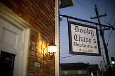 The Historic Dooky Chase Restaurant. I love this place