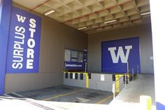 The UW Surplus Store sells off all sorts of interesting extras from the University of Washington.