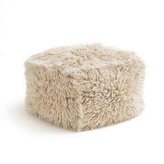 Pouf laine, Carito AM.PM - Linge de maison, rideaux