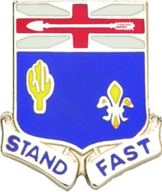 155th Infantry Unit Crest (Stand Fast)