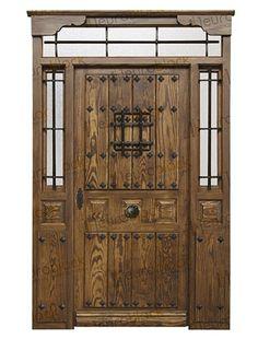 Spanish Front Door, Tall Cabinet Storage, Front Doors, Gates, Home Decor, Inspiration, Design, Model, Rustic Doors