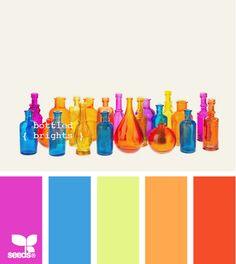 bottled brights #designseeds