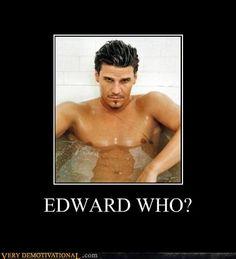 EDWARD WHO?  Angel the original GORGEOUS Vampire