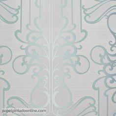 Papel pintado paris rs71406 con rayas horizontales poco - Papel pintado rayas horizontales ...