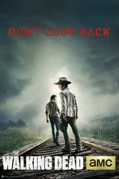 Top 99 Gift Ideas for The Walking Dead Fans | Gifts For Gamers & Geeks - Don't Look Back Poster