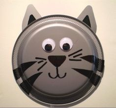 Paper Plate Kitten - Kids Craft